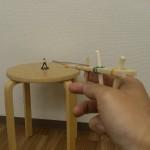 割り箸鉄砲の超簡単な作り方!小学生低学年でも工作できた!