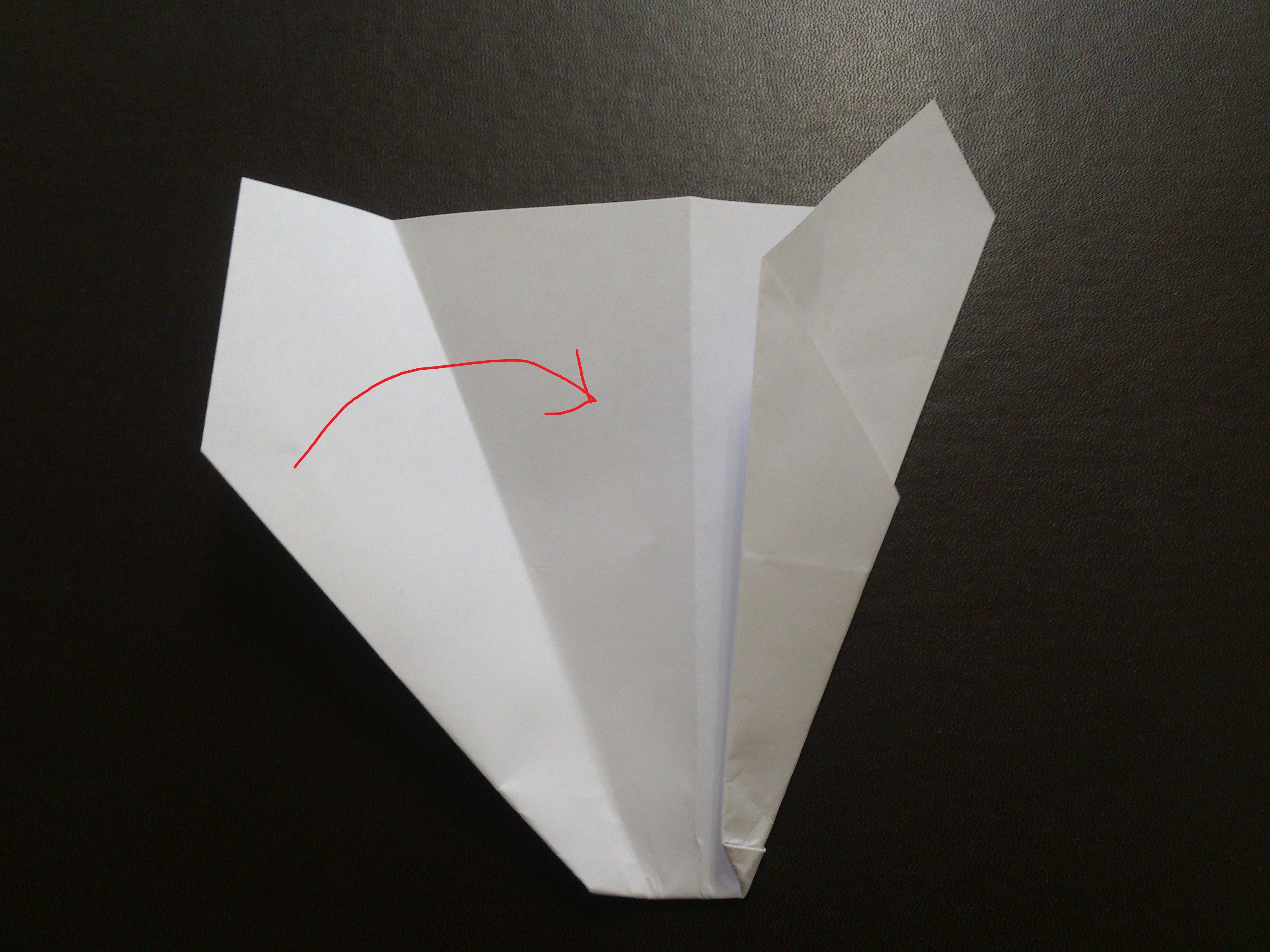 すべての折り紙 よく飛ぶ紙飛行機の折り方 : 紙飛行機のよく飛ぶ折り方 ...