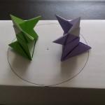 折り紙のお相撲さんの折り方とトントン相撲の土俵の作り方!
