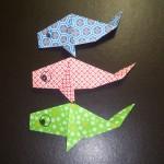 折り紙のこいのぼりの折り方♪こどもの日に親子で飾ろう!