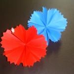 折り紙の花の折り方!母の日にカーネーションをプレゼント!