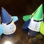 小学生の簡単工作!紙コップロケットの良く飛ぶ作り方!