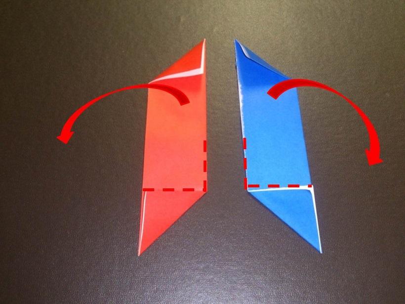 すべての折り紙 手裏剣 折り紙 簡単 : 折り紙の手裏剣の折り方!簡単 ...