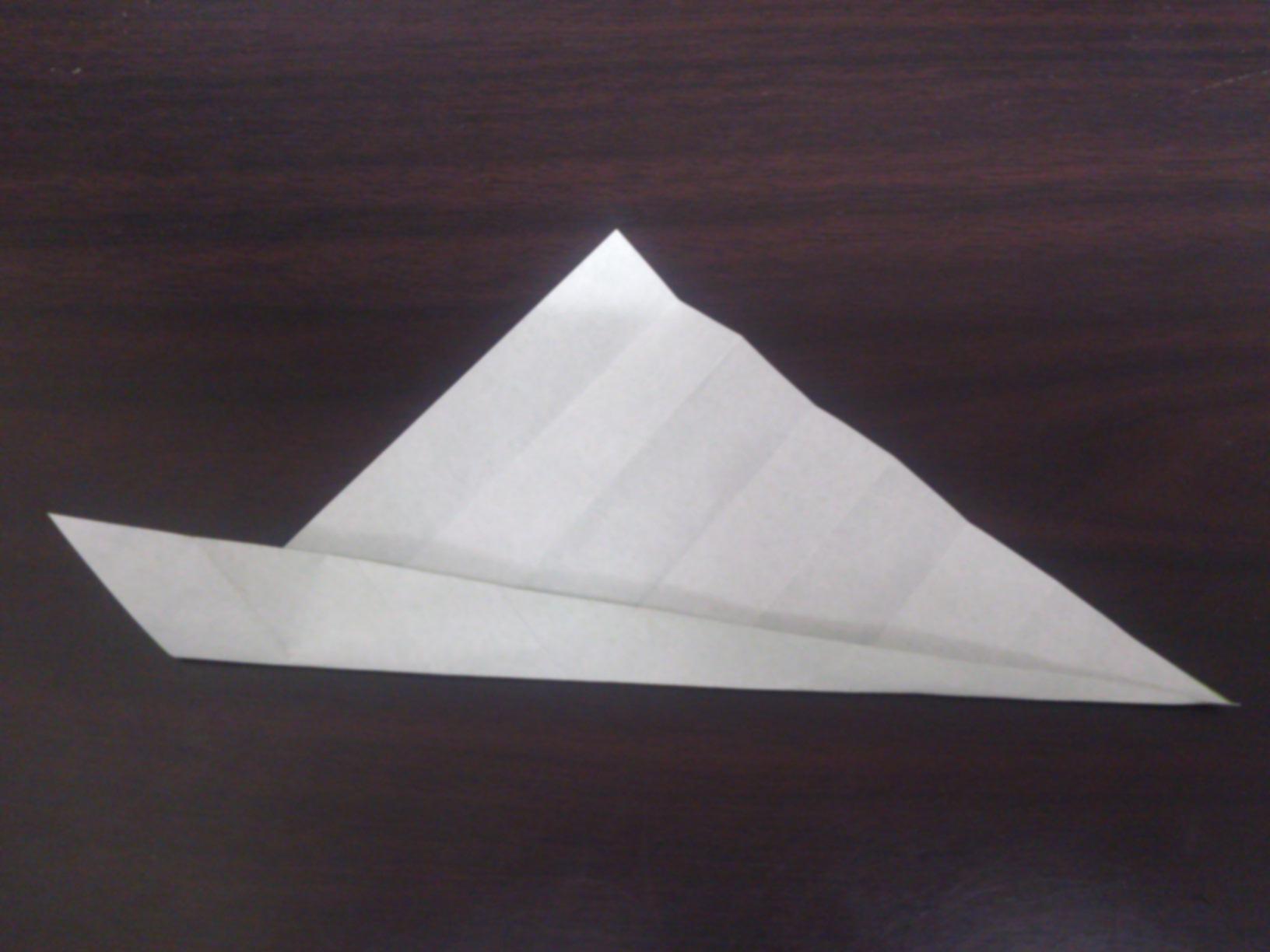 すべての折り紙 折り紙 花 ひまわり : 片方が頂点になるように、三角 ...