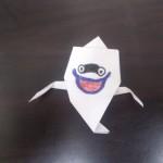 妖怪ウォッチのウィスパー!折り紙の折り方は簡単だけど絵は?