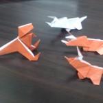 恐竜の折り紙でティラノサウルスの折り方♪意外に簡単!?