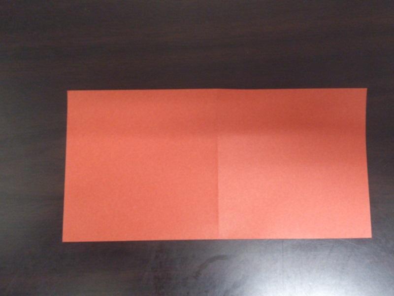 すべての折り紙 折り紙 恐竜 折り方 : 一旦開いて、反対側も四角に ...