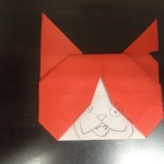 妖怪ウォッチ ジバニャンの折り紙の折り方!簡単だったけど・・・