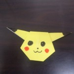 ポケモンの折り紙!ピカチュウの簡単な折り方はコレ?