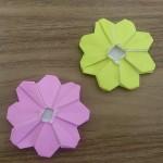 折り紙のコスモスの折り方!細かいけど簡単な作り方見つけたよ♪