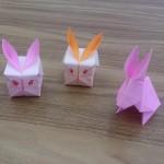風船うさぎの折り紙の折り方!小さい子でも簡単に折れるよ♪
