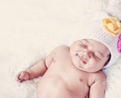 赤ちゃん寝顔