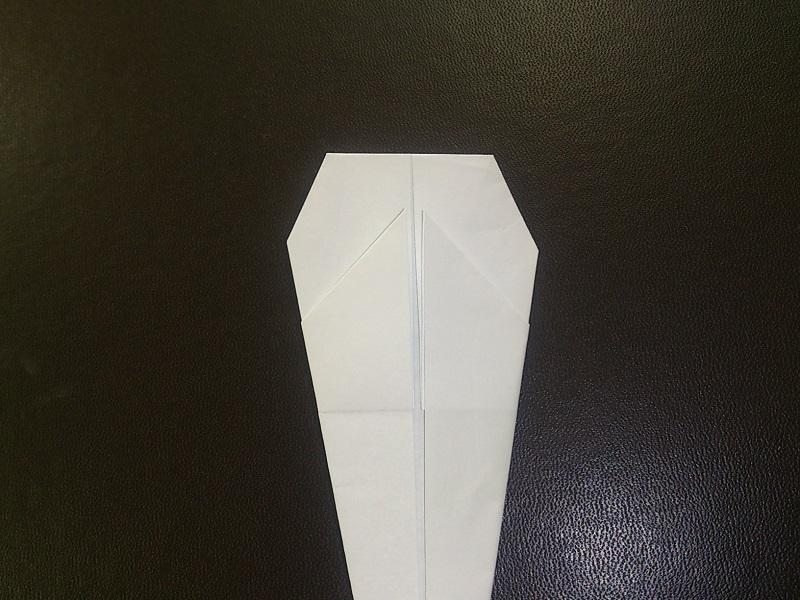 すべての折り紙 おばけ 折り紙 折り方 : の折り紙の折り方!おば ...