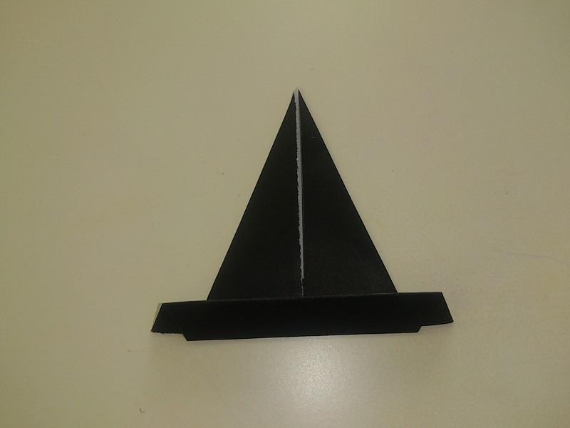 すべての折り紙 折り紙 帽子 立体 : もう1回くらい折りましょうか ...