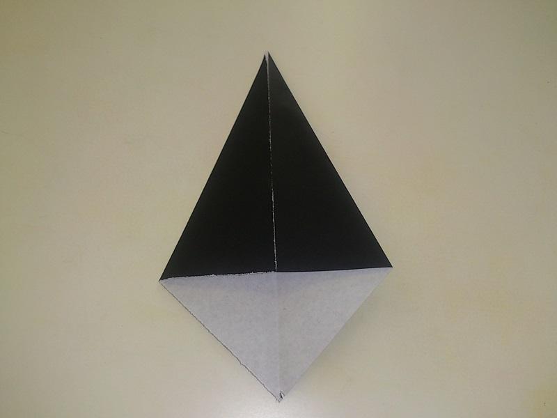 すべての折り紙 帽子の折り方 折り紙 : ハロウィンの折り紙の折り方 ...