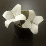 折り紙のゆりの折り方♪簡単で立体的な作り方をまとめたよ!