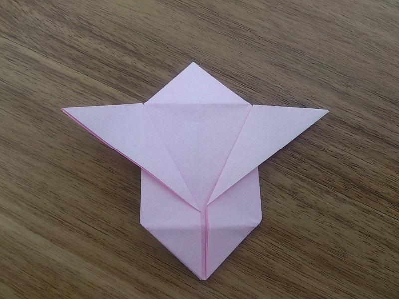 すべての折り紙 折り紙 風船 折り方 : 風船うさぎの折り紙の折り方 ...