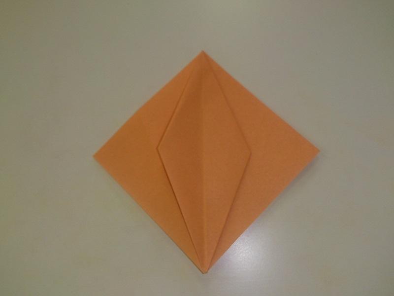 すべての折り紙 折り紙 かぼちゃ : ハロウィンのかぼちゃの折り紙 ...