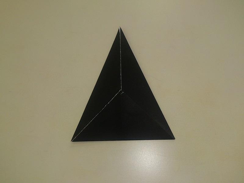 折り紙の 折り紙の織り方 : ハロウィンの折り紙の折り方 ...
