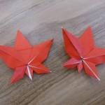 折り紙のもみじの折り方!簡単に折れるように動画と写真で解説!