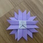 コスモスの折り紙の折り方!簡単に秋の花を折れたよ♪