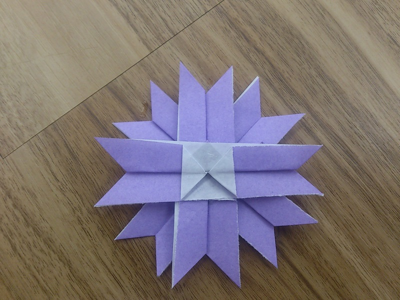 すべての折り紙 折り紙 ブーケ 折り方 簡単 : の折り紙の折り方!簡単 ...