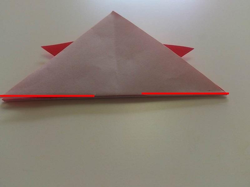すべての折り紙 かぶと 折り紙 作り方 : 折り紙の金魚の超簡単な折り方 ...