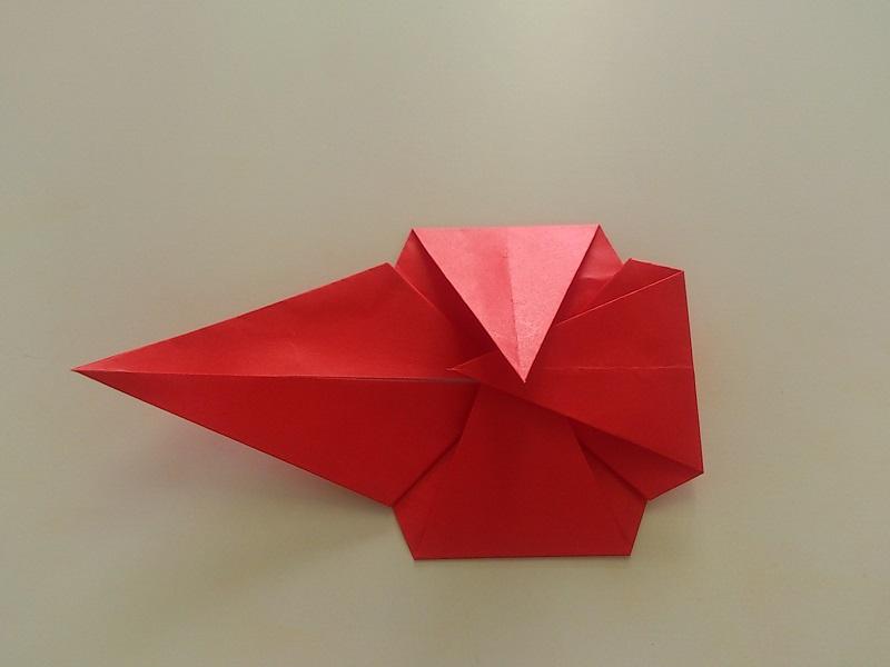 折り紙のバラの折り方!一番 ... : 折り紙 プレゼント 折り方 : すべての折り紙