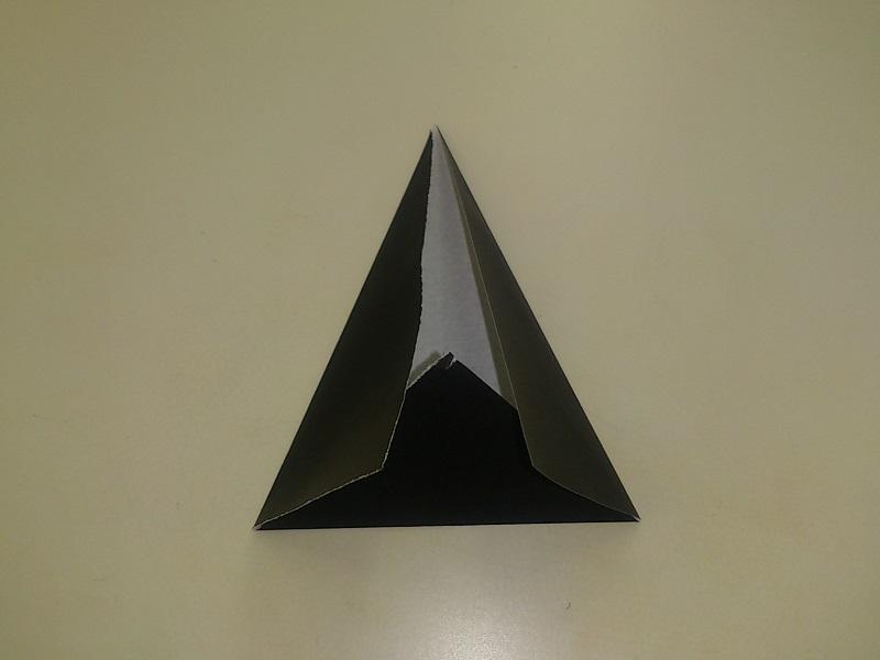すべての折り紙 魔女の帽子 折り紙 : 折り紙の折り方!おばけと魔女 ...