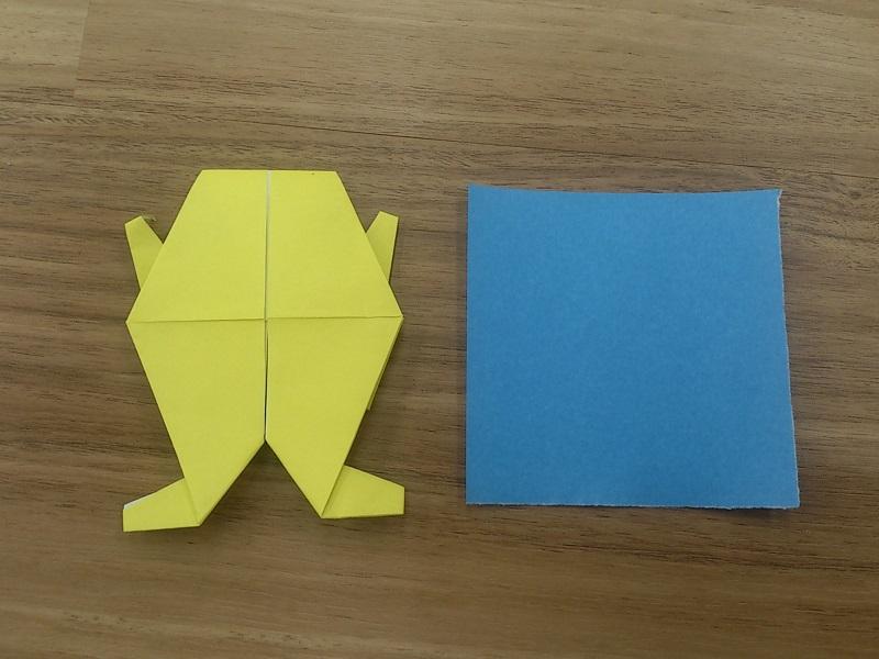 すべての折り紙 キャラクター簡単折り紙 : ... キャラクターも簡単に折れたよ