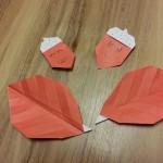 どんぐりの折り紙の折り方!簡単で幼稚園生でも楽しめるよ♪