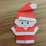 折り紙のサンタクロースの折り方!2枚使った折り方はコレ!
