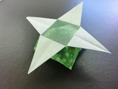 箱の折り紙の折り方!節分の ... : 折り紙 節分 箱 : 折り紙