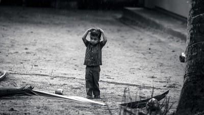 雨とこども