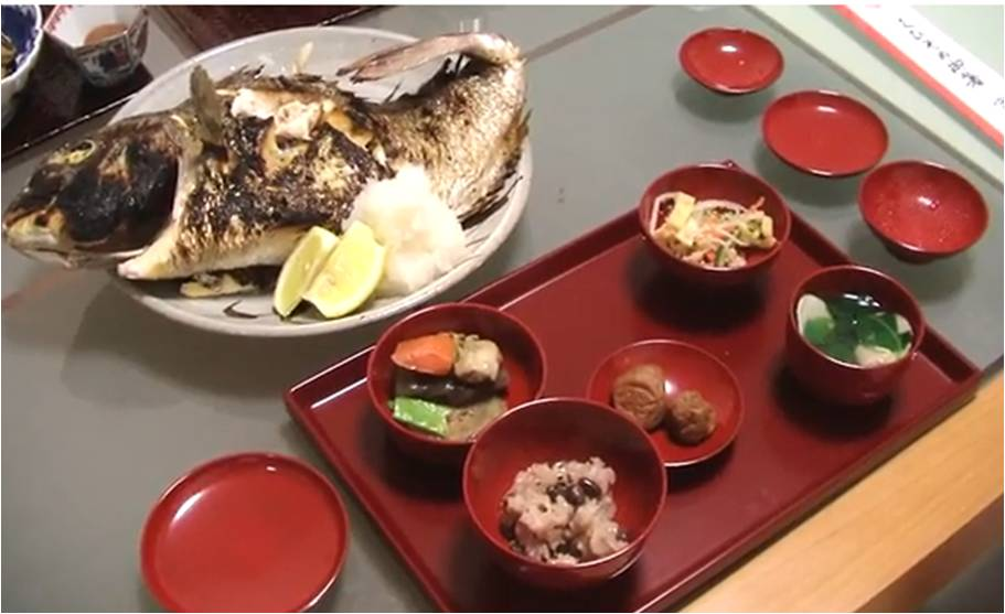 お食い初め一汁三菜2