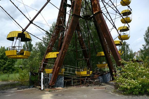 チェルノブイリ遊園地